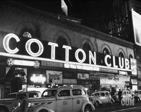 Harlem: Cotton Club, 1930s Stretched Canvas Print
