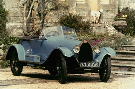 Auto: Bugatti Type, 1925 Stretched Canvas Print