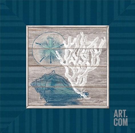 Coastal Wonders Stretched Canvas Print