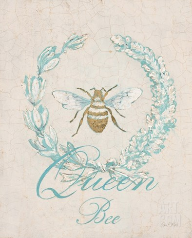 Tiffany Bee Stretched Canvas Print