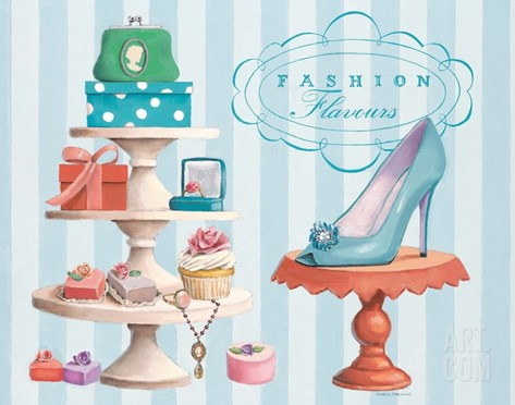 Fashion Flavours Confectionary Stretched Canvas Print