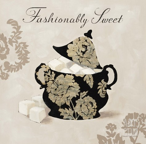 Fashionably Sweet Stretched Canvas Print