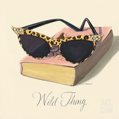 Such a Wild Thing Stretched Canvas Print