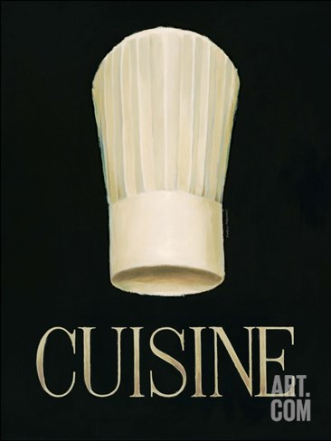 Gourmet Chef Stretched Canvas Print