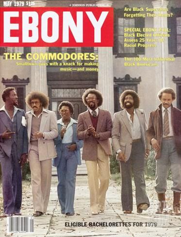 Ebony May 1979 Stretched Canvas Print