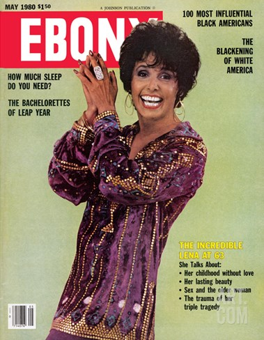 Ebony May 1980 Stretched Canvas Print