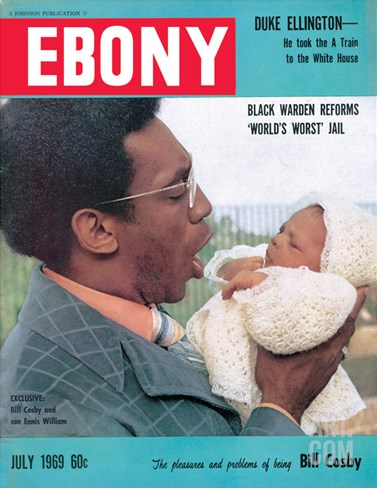 Ebony July 1969 Stretched Canvas Print