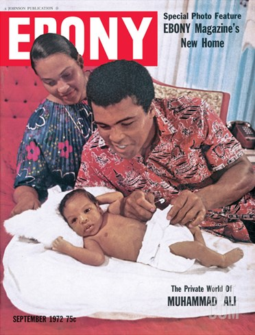 Ebony September 1972 Stretched Canvas Print