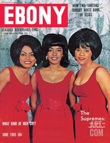 Ebony June 1965 Stretched Canvas Print