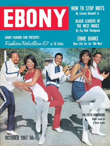 Ebony October 1967 Stretched Canvas Print