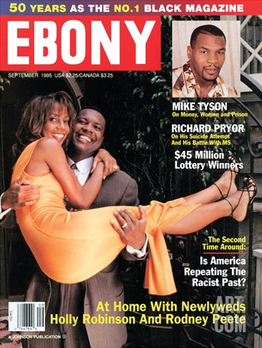Ebony September 1995 Stretched Canvas Print