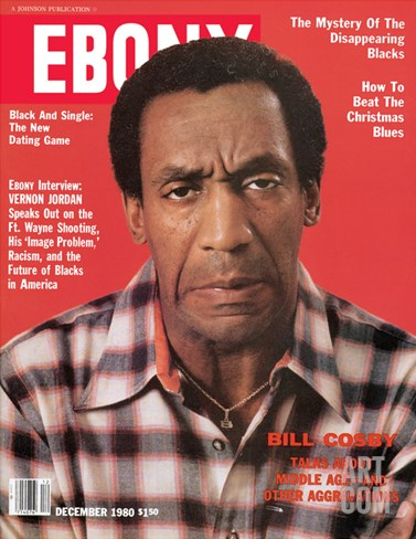 Ebony December 1980 Stretched Canvas Print