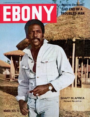 Ebony March 1973 Stretched Canvas Print