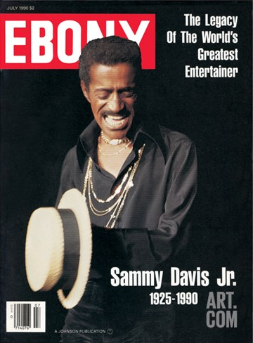 Ebony July 1990 Stretched Canvas Print