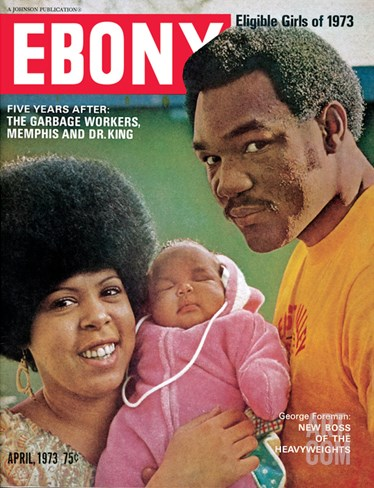 Ebony April 1973 Stretched Canvas Print