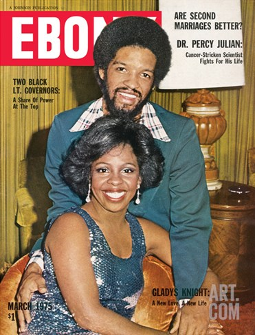 Ebony March 1975 Stretched Canvas Print