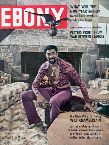 Ebony January 1974 Stretched Canvas Print