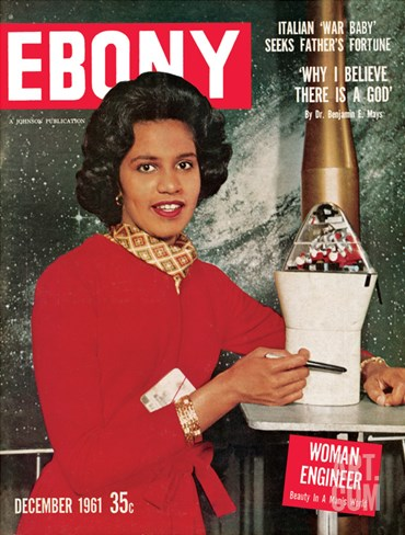 Ebony December 1961 Stretched Canvas Print