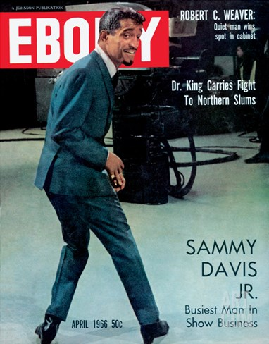 Ebony April 1966 Stretched Canvas Print