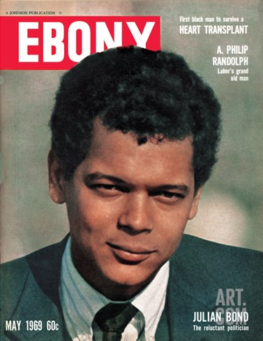 Ebony May 1969 Stretched Canvas Print
