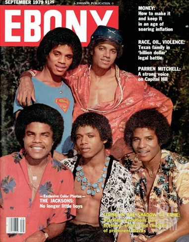 Ebony September 1979 Stretched Canvas Print