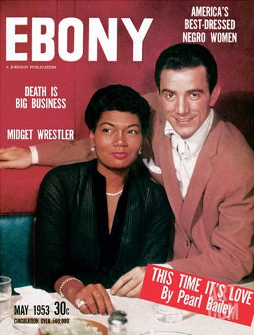 Ebony May 1953 Stretched Canvas Print