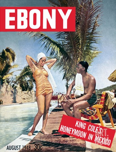 Ebony August 1948 Stretched Canvas Print