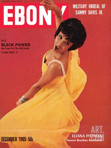 Ebony December 1965 Stretched Canvas Print