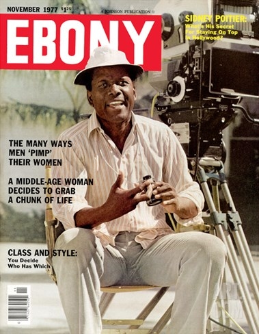 Ebony November 1977 Stretched Canvas Print