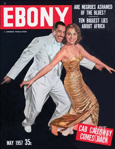Ebony May 1957 Stretched Canvas Print