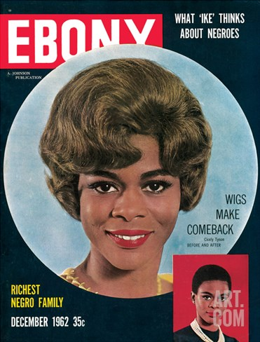 Ebony December 1962 Stretched Canvas Print