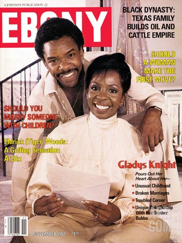 Ebony November 1982 Stretched Canvas Print