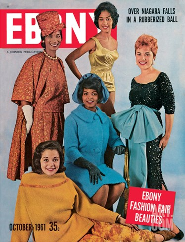 Ebony October 1961 Stretched Canvas Print