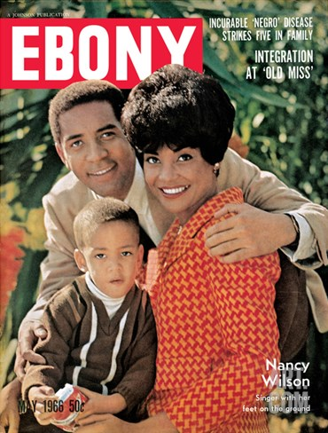 Ebony May 1966 Stretched Canvas Print