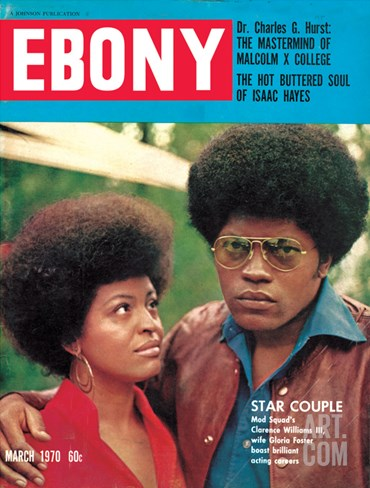 Ebony March 1970 Stretched Canvas Print