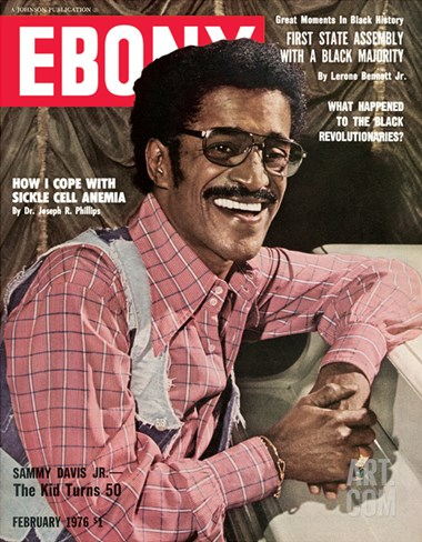 Ebony February 1976 Stretched Canvas Print