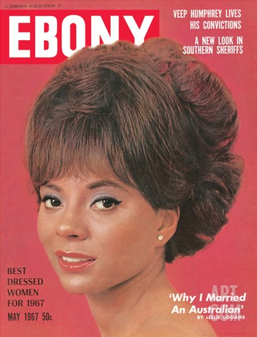 Ebony May 1967 Stretched Canvas Print