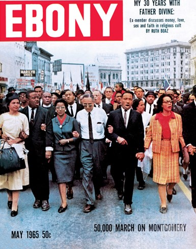 Ebony May 1965 Stretched Canvas Print