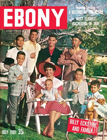 Ebony July 1961 Stretched Canvas Print