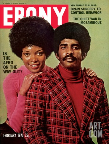 Ebony February 1973 Stretched Canvas Print
