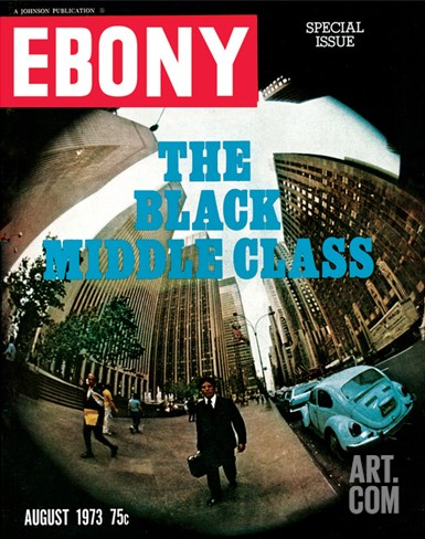 Ebony August 1973 Stretched Canvas Print