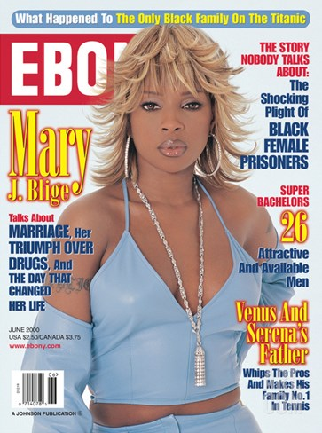 Ebony June 2000 Stretched Canvas Print