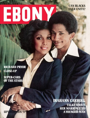 Ebony September 1976 Stretched Canvas Print