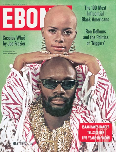 Ebony May 1972 Stretched Canvas Print