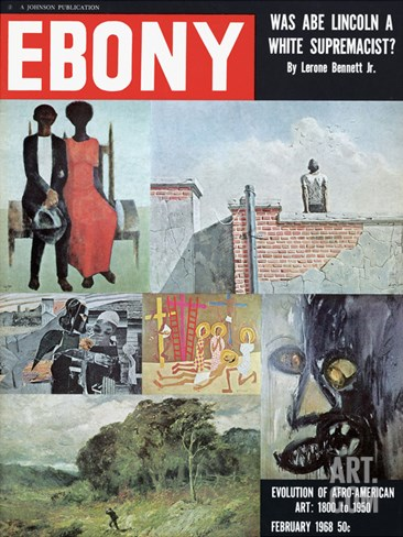 Ebony February 1968 Stretched Canvas Print
