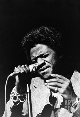 Al Green - 1972 Stretched Canvas Print