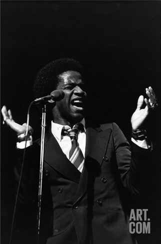 Al Green - 1981 Stretched Canvas Print