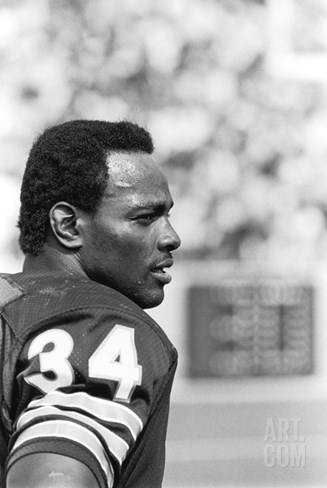 Walter Payton Stretched Canvas Print