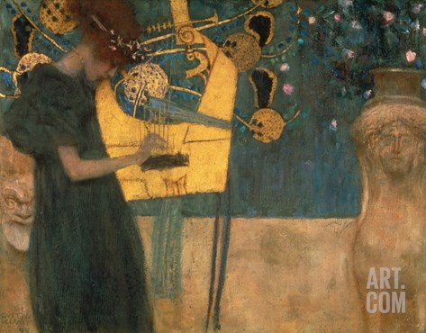 Music, 1895 Stretched Canvas Print
