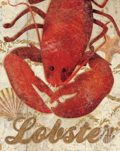 Ocean Delicacies II Stretched Canvas Print